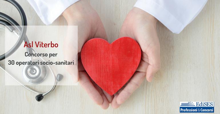 Concorso per 30 operatori socio-sanitari all'Asl di Viterbo