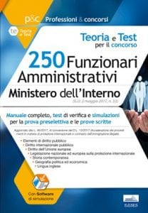 manuale concorso 250 funzionari ministero interno