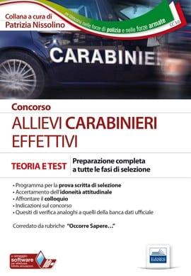 FormatobrossuraEdizione3/2018N. Pagine736 / B/NCodice prodottoCC 3.0ISBN9788893621274 Concorso arma dei carabinieri Concorso allievi marescialli Concorso Allievi Carabinieri Effettivi