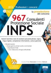 concorso 967 consulenti INPS