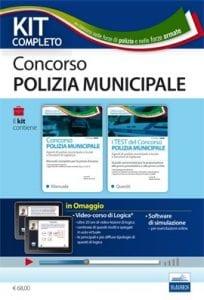 kit concorso polizia municipale 2018