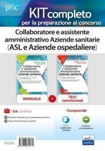 kit collaboratori amministrativi aziende sanitarie