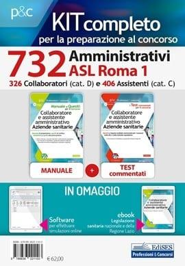 concorsi amministrativi asl roma