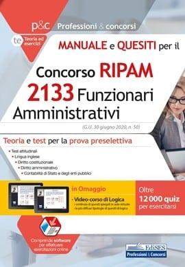 concorso-ripam-2133-funzionari-amministrativi-manuale-e-quesiti-preselezione_1