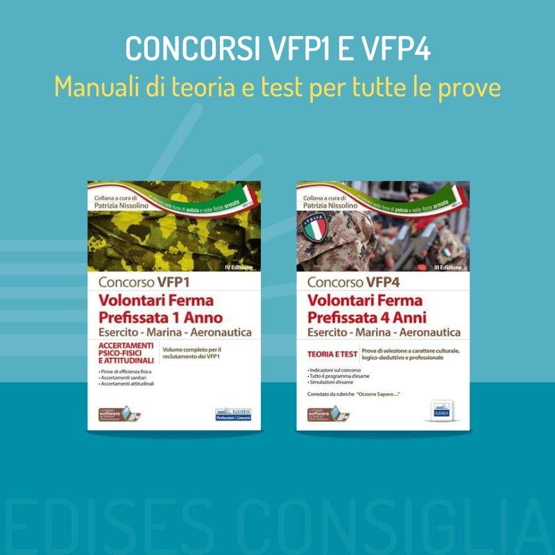 Concorsi per VFP1 e VFP4