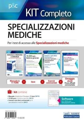kit concorso specializzazioni mediche