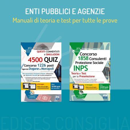 libri concorsi enti pubblici e agenzie