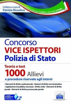 manuale concorso vice ispettori polizia